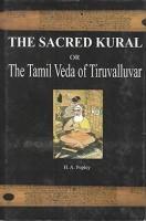 The Sacred Kural or the Tamil Veda of Tiruvalluvar