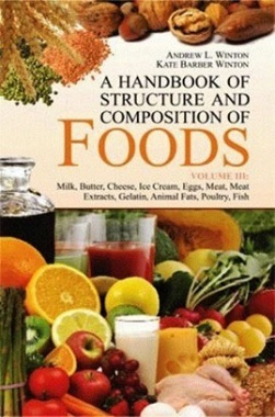 A Handbook of Structure and Composition of Foods (Vol. III): Milk, Butter, Cheese, Ice Cream, Eggs,