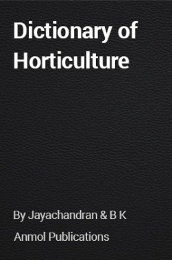 Dictionary of Horticulture