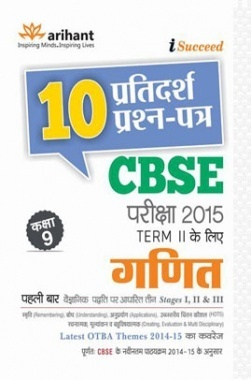 CBSE 10 Sample Question Paper - GANIT for Class 9th Term-II