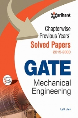 Chapterwise Previous Years' Solved Papers (2015-2000) GATE  Mechanical Engineering