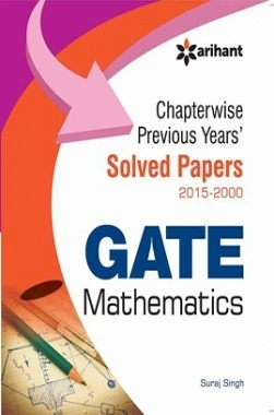 Chapterwise GATE Mathematics Solved Papers (2015-2000)