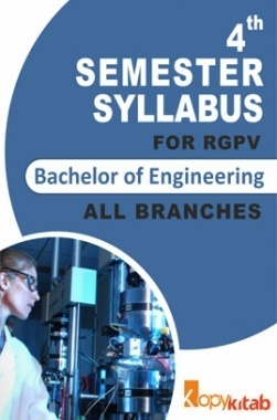 BE 4th Sem Syllabus of all Branches for RGPV
