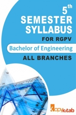 BE 5th Sem Syllabus of all Branches for RGPV