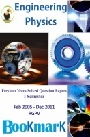 BookMark - Engineering Physics - RGPV - Previous Year Solved Question Papers