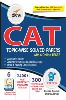 CAT Topic-wise Solved Papers with 6 Online Practice Sets 9th edition
