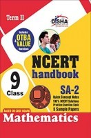 NCERT Handbook Term II Mathematics Class 9 (NCERT Solutions + FA Activities + SA Practice Questions & 5 Sample Papers)