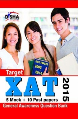 XAT 5 Mock + 10 Past papers 2015 by Disha Publication
