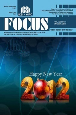 e-Focus January 2012 by ICSI