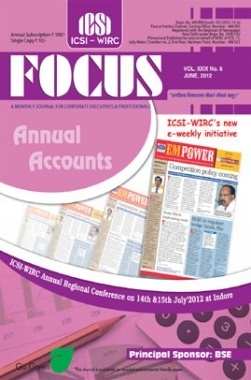 e-Focus June 2012 by ICSI