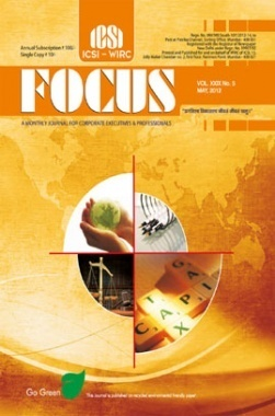 e-Focus May 2012 by ICSI