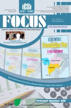 e-Focus September 2012 by ICSI