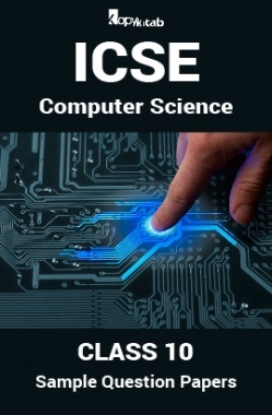 ICSE Sample Question Papers For Class 10 Computer-Science