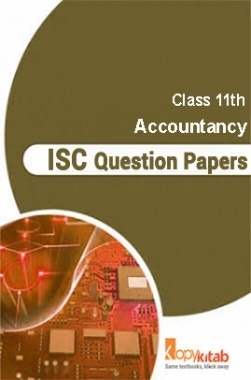 ISC Sample Question Papers For Class 11 Accountancy