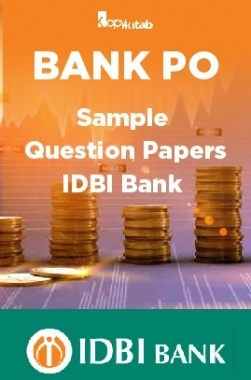BANK PO Sample Question Papers For IDBI Bank