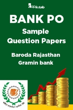 BANK PO Sample Question Papers For Baroda Rajasthan Gramin Bank