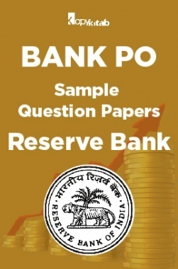 BANK PO Sample Question Papers For Reserve Bank