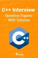 C++ Interview Question Papers With Solution