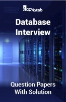 Database Interview Question Papers With Solution