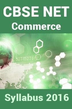 CBSE NET Commerce Syllabus 2016