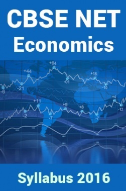 CBSE NET Economics Syllabus 2016