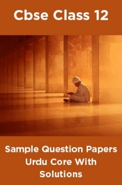 CBSE Sample Question Papers Urdu Core With Solutions Class 12
