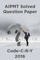 AIPMT Solved Question Paper-Code-C-R-Y 2016