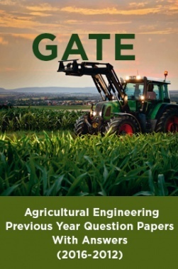 GATE Agricultural Engineering Previous Year Question Papers With Answers (2016-2012)