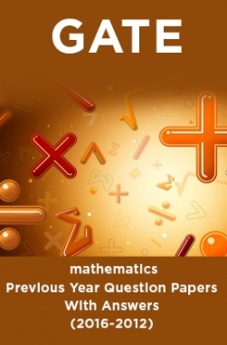 GATE Mathematics Previous Year Question Papers With Answers (2017-2012)