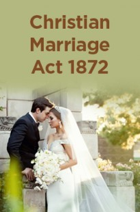 Christian Marriage Act 1872