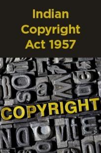 Indian Copyright Act 1957