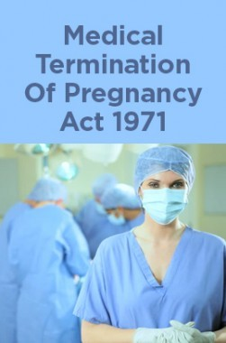 Medical Termination Of Pregnancy Act 1971
