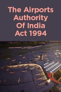 The Airports Authority Of India Act 1994