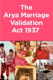 The Arya Marriage Validation Act 1937