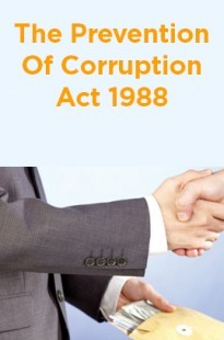 The Prevention Of Corruption Act 1988