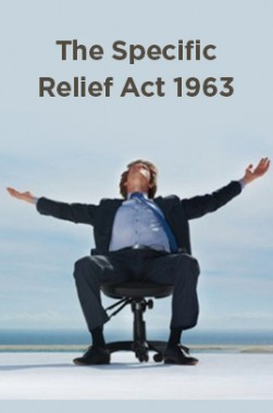 The Specific Relief Act 1963