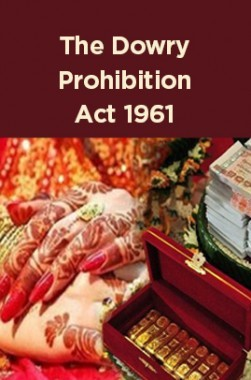 The Dowry Prohibition Act 1961