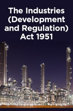 The Industries (Development and Regulation) Act 1951