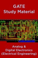 GATE Study Material Analog And Digital Electronics (Electrical Engineering)
