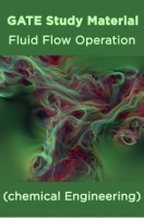 GATE Study Material Fluid Flow Operation (chemical Engineering)