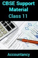 CBSE Support Material For Class 11 Accountancy