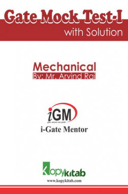 iGate Mechanical Mock Test I With Solution By Mr Arvind Rai