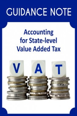 Guidance Note on Accounting for State-level Value Added Tax