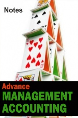 Advance Management Accounting