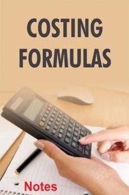 Costing Formulas