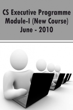 CS Executive Programme Module-I (New Course) June 2010