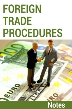 Foreign Trade Procedures Notes