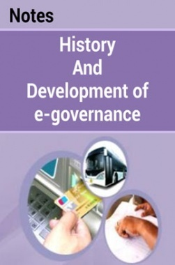 History and Development of e-Governance