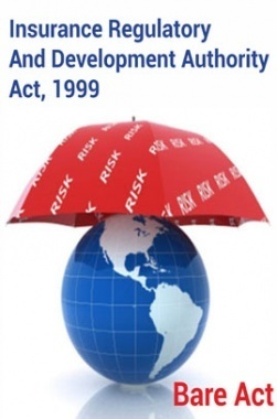 Insurance Regulatory and Development Authority Act, 1999