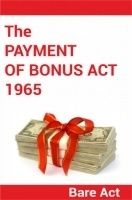 The Payment of Bonus Act 1965 Notes